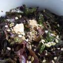 Sweet and Tender Kale, Date, and Pumpkin Seed Salad