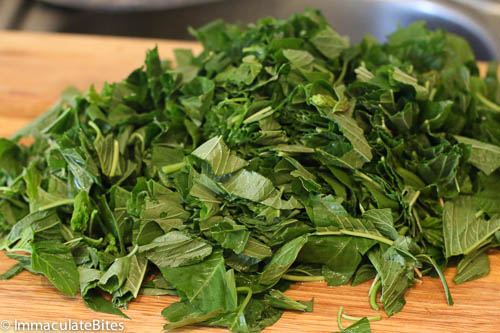 Steamed Callaloo Recipe