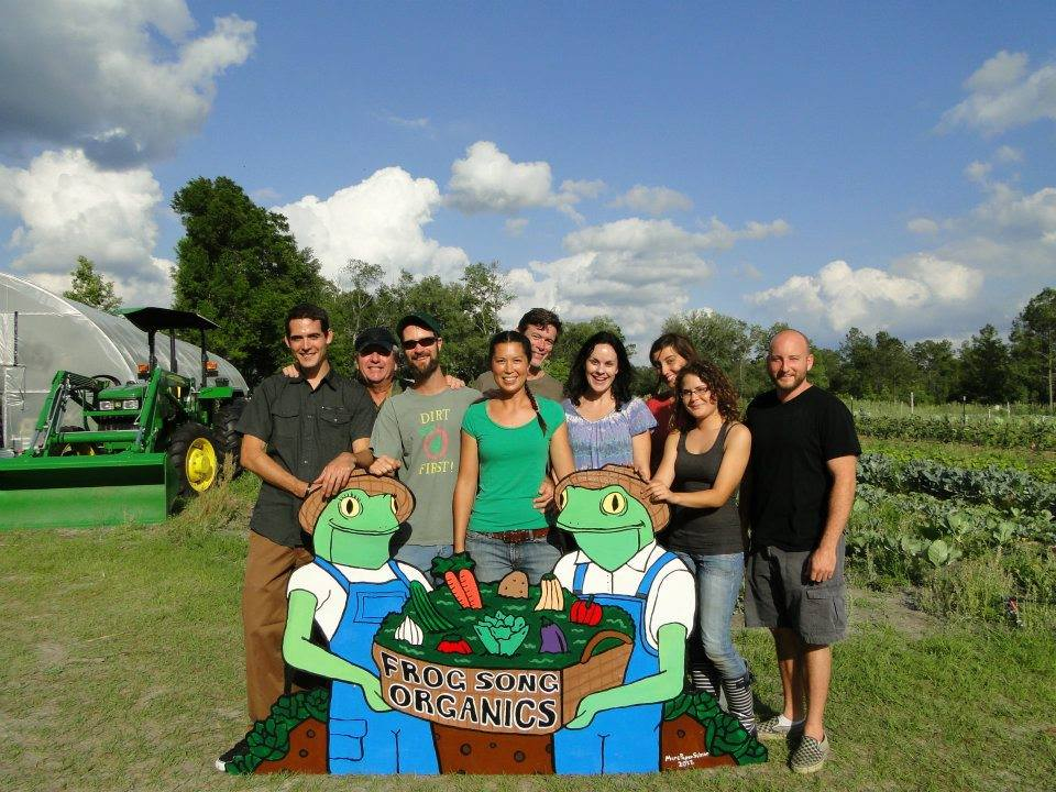 Original Farm Crew, 2012. In memory of our neighbor, Dave Stanley.