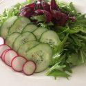 Mizuna Salad Recipe