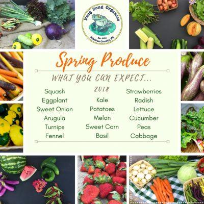 Spring Season CSA Information