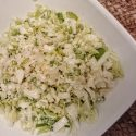 Napa Cabbage and Turnip Slaw w/ Buttermilk dressing