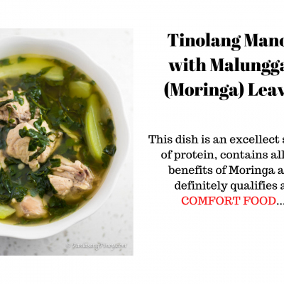Benefits of Moringa (Malunggay) – Tinolang Manok Recipe