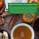 Spiced Turmeric Persimmon Tea