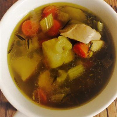 Turmeric Healing Chicken Soup